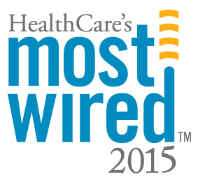 Healthcare's Most Wired Hospital award logo