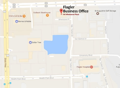 flagler business office map