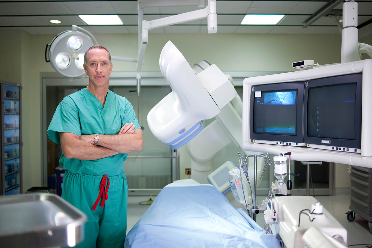 doctor in an operating room