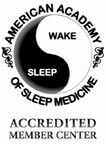 Accredited Sleep Center award logo